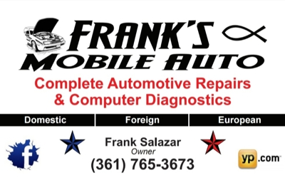 Frank's Mobile Auto - Corpus Christi, TX