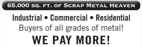 scrap metal yards