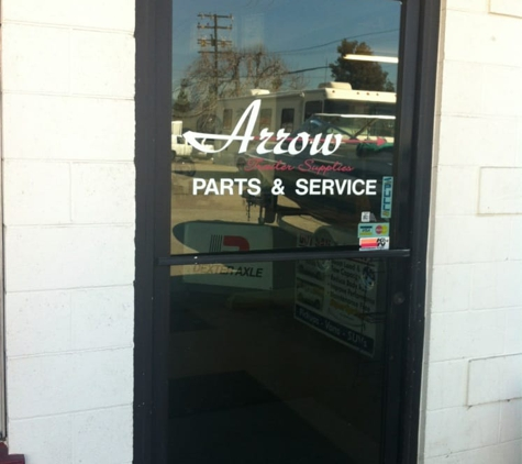 Arrow Trailer Supplies. - Ontario, CA