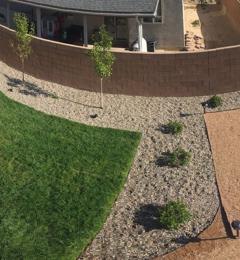 J & J Landscape LLC - Albuquerque, NM. Finished product