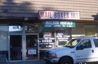 Mailbox International Inc. Mailbox Rental Fed-Ex Shipping and Notary Services - Woodland Hills, CA