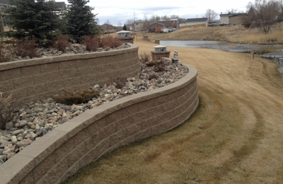 A & A Landscape & Maintenance of ND - Williston, ND. Retaining Walls