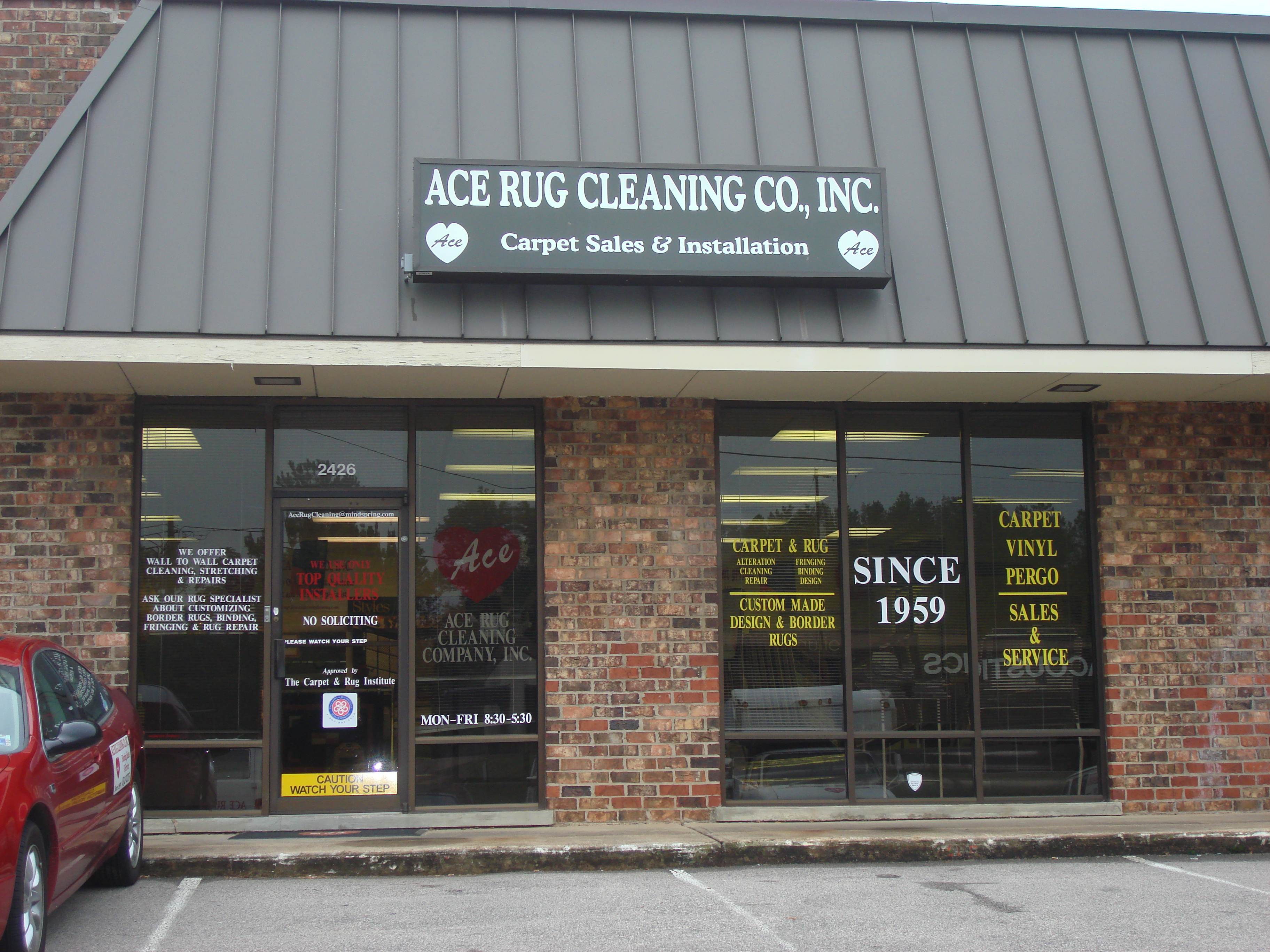 Ace Rug Cleaning Company Inc Raleigh, NC 27604 - YP.com