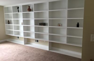 Custom Remodeling & Restorations LLC. Bookshelves