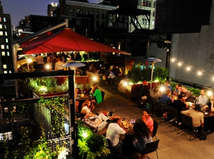 The Rooftop Patio at Park South in New York, NY