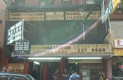 China Employment Agency - New York, NY