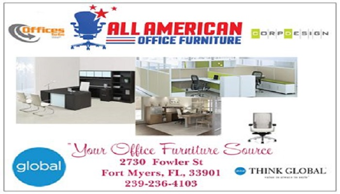 all american office furniture fort myers, fl 33901 - yp