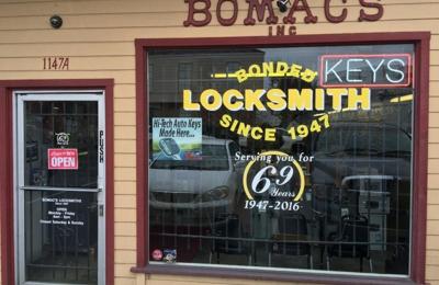 Bomac's Locksmith - Walnut Creek, CA