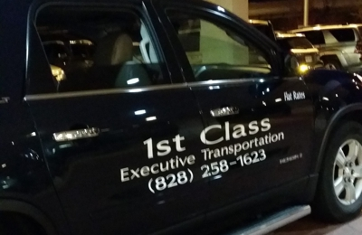 1st Class Executive Transportation - Asheville, NC