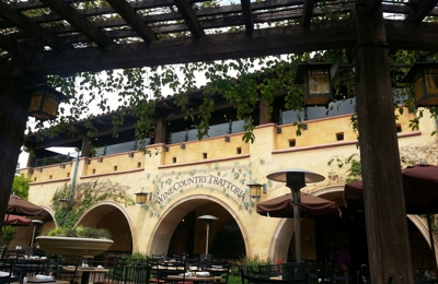 Wine Country Trattoria - Anaheim, CA. Wine Country Trattoria outdoor seating is a beautiful way to enjoy your lunch in sunny California!