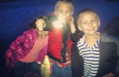 SharKens Honeyhole - Fritch, TX. Fishing family