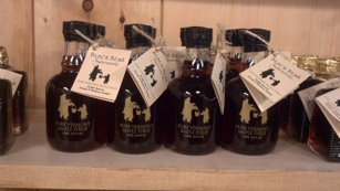 Maple Syrup Bottles at Corner of Vermont in Brooklyn, NY