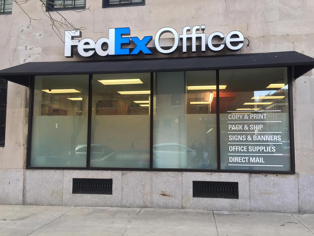 Fedex Office Print Ship Center 1337 Lexington Ave New York Ny