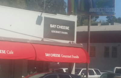 Say Cheese - Los Angeles, CA. Say cheese next to trader joe's at hyperion