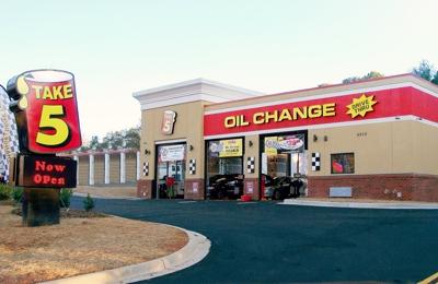 oil change near me open now