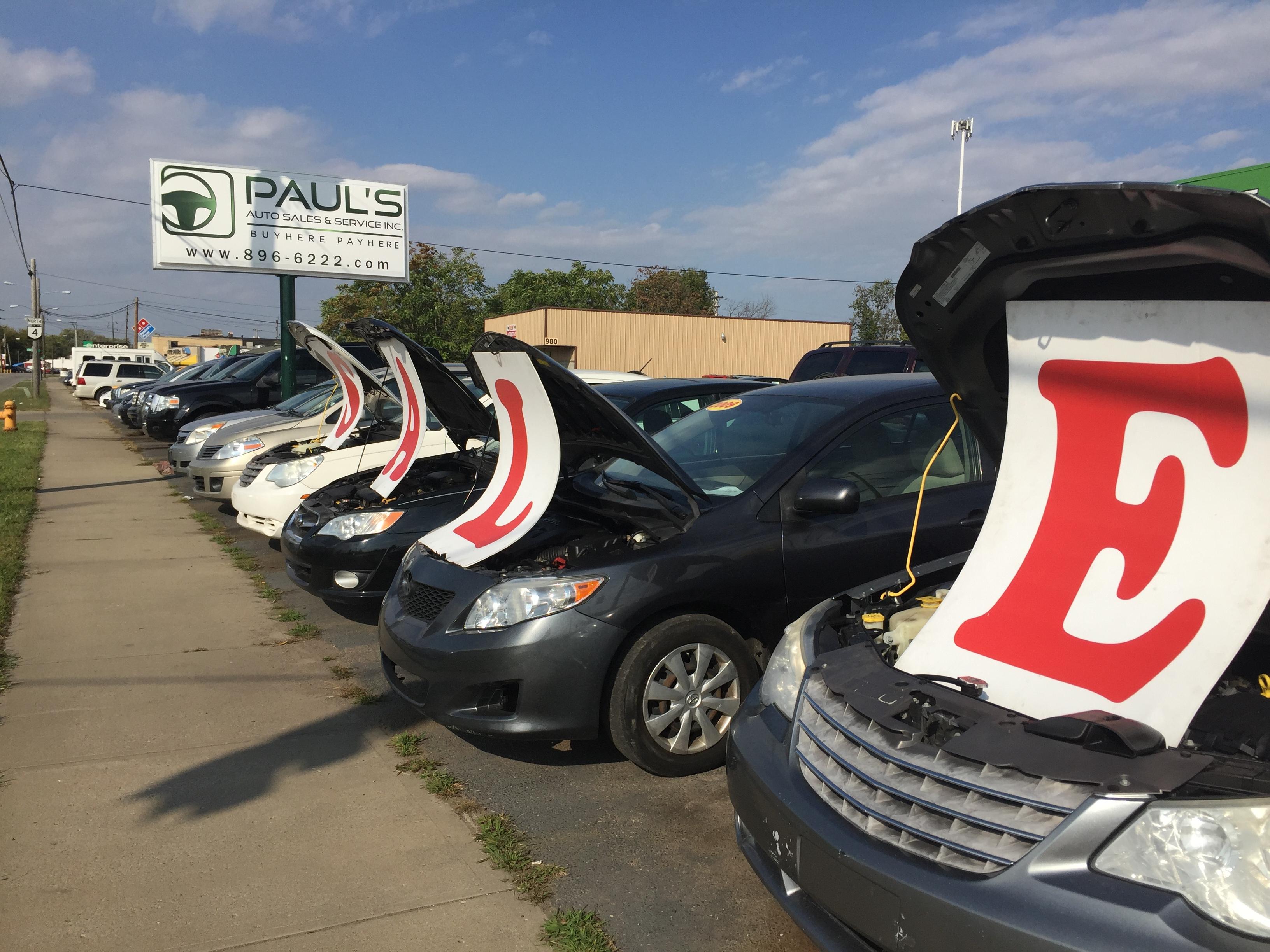 Paul s Auto Sales & Service 990 S Erie Hwy Hamilton OH YP