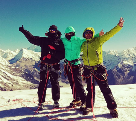 Superior Travel. Happy Moment at Mera Peak Climbing