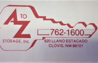A To Z Storage - Clovis, NM