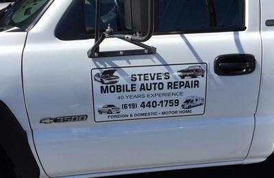 Steve's Mobile Repair - El Cajon, CA