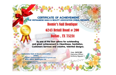 Romie's Nail Boutique - Dallas, TX