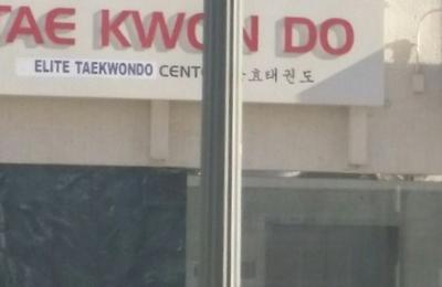 Elite Taekwondo Center - Los Angeles, CA. Tae Kwon Do sign