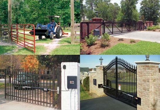 central fences and gates