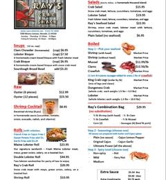 Ray's Crab Shack - Newark, CA