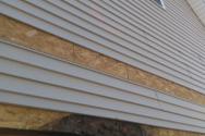 Masullo Brokers built a home in 2003; nothing between the vinyl siding with SUPPORTING beam.  fully rotted inside while outside seems fine