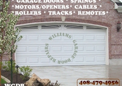 Delicieux Williams Garage Door Repairs   Morgan Hill, CA