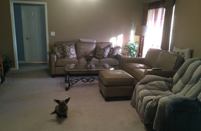 Standard Furniture Co - Gardendale, AL. Grandpas recliner we already had and he won't give up ����.