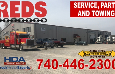 Red S Truck Center 1701 Kerr Rd Bidwell Oh 45614 Yp Com