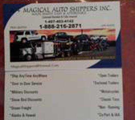 A+ Magical Auto Shippers Inc - Orlando, FL