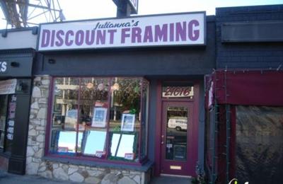juliannas discount framing woodland hills ca - Discount Framing