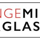 Orange Mirror And Glass
