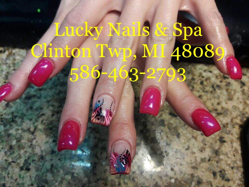 Lucky Nails & spa 37561 S Gratiot Ave, Clinton Township, MI 48036 ...