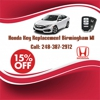 Honda Key Replacement Birmingham MI