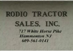 Rodio Tractor Sales - Hammonton, NJ