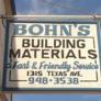 Bohn's Building Materials - Texas City, TX