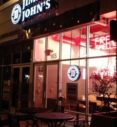 Jimmy John's - Pasadena, CA. Outside at night