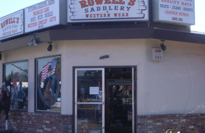 Rowell's Saddlery & Western Wear - Castro Valley, CA