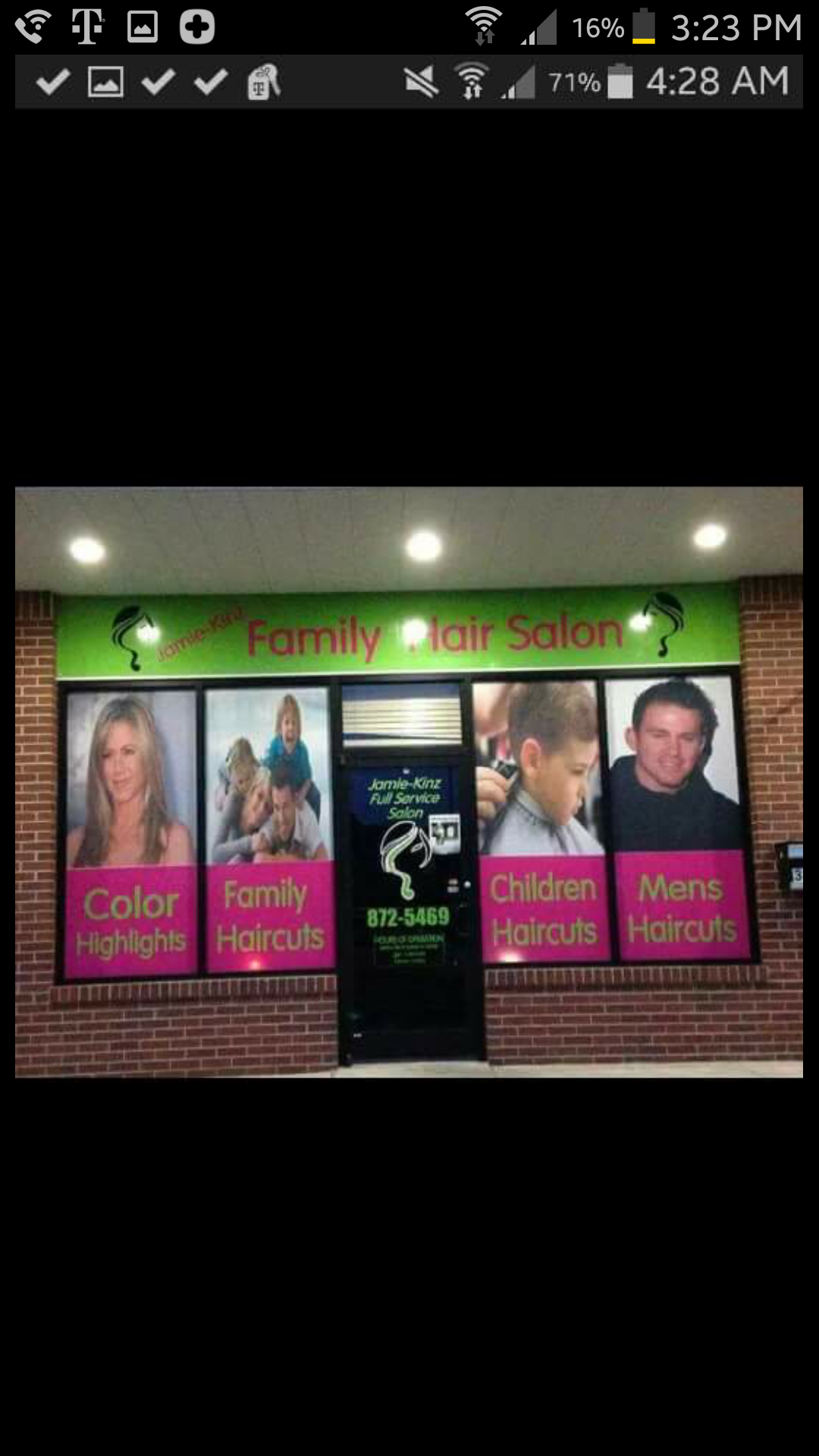 Jamie Kinz Family Hair Salon 301 N Main St Noble Ok 73068 Yp