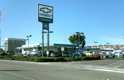 Courtesy Chevrolet Center - San Diego, CA