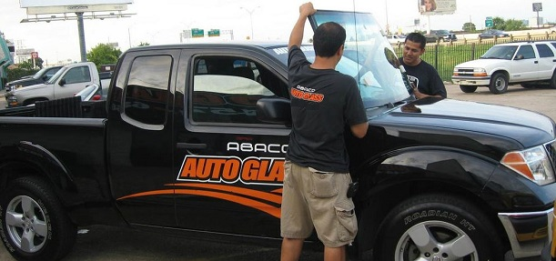 Abaco Auto Glass fast affordable mobile auto glass windshield repair for Dallas