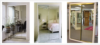 Custom Closet Door Mirrors