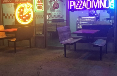 """14"""" Slice Pizza Divino With Two Toppings Plus Drink For $4.59 Special - Phoenix, AZ"""