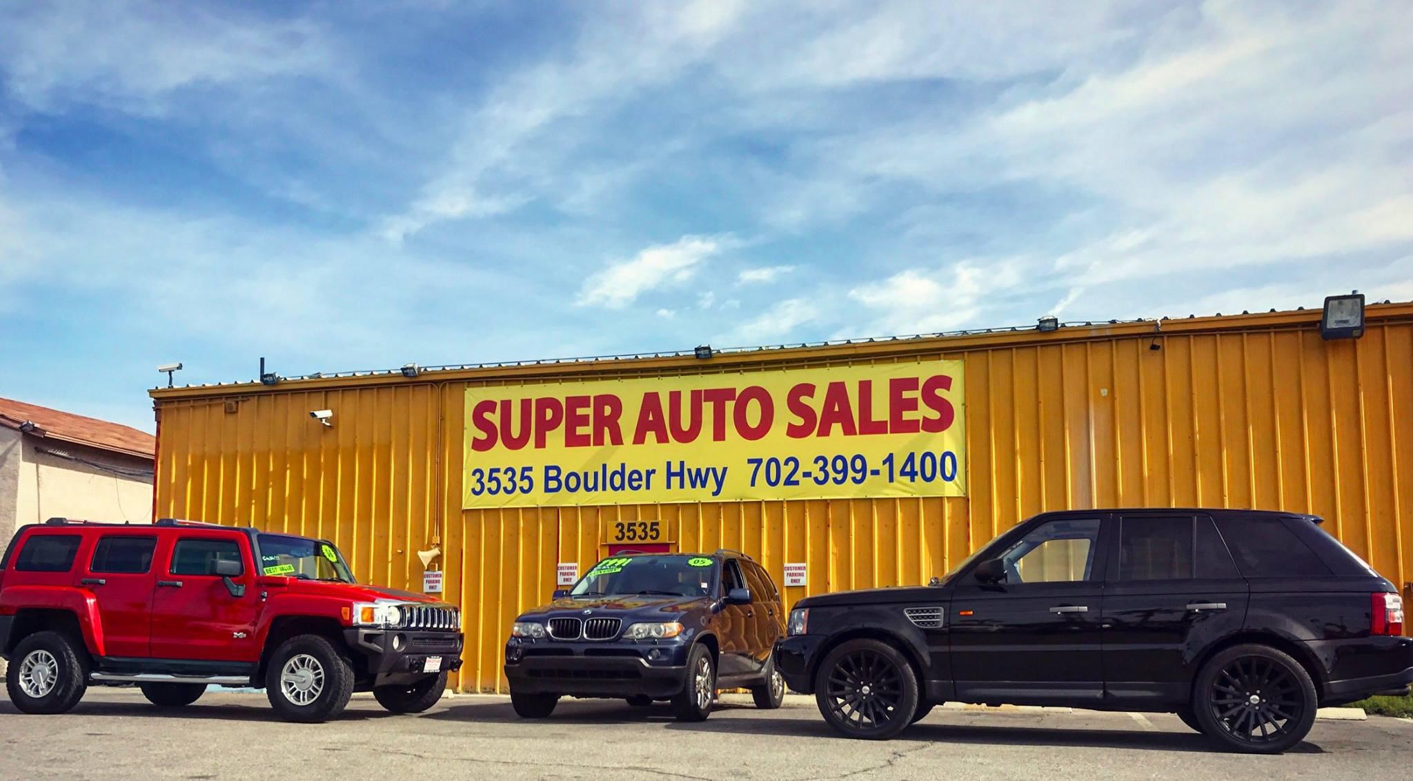 Super Auto Sales >> Super Auto Sales 3535 Boulder Hwy Las Vegas Nv 89121 Yp Com