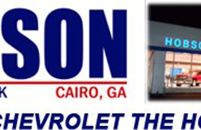 Hobson Chevrolet Buick 150 8th Ave Ne Cairo Ga 39828 Yp Com