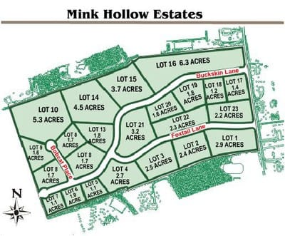 Mink Hollow Estate Views
