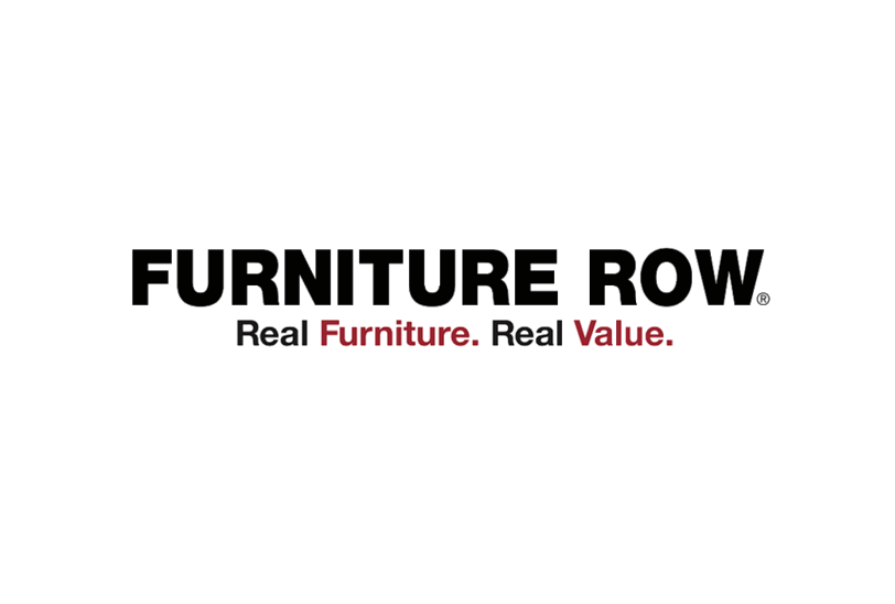 Logo: Brands: Furniture Row, Sofa Mart, Oak Express, Bedroom Expressions,  Denver Mattress Company; Payment Method: Amex, Cash, Check, Discover, ...