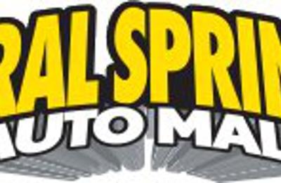 Coral Springs Auto Mall >> Coral Springs Auto Mall 9300 W Atlantic Blvd Coral Springs Fl
